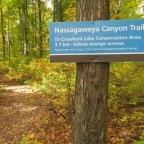 Nassagaweya Canyon Trail in Milton