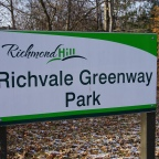Richvale Greenway Park in Richmond Hill