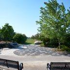 Flight 621 Memorial Garden and Cemetery in Brampton