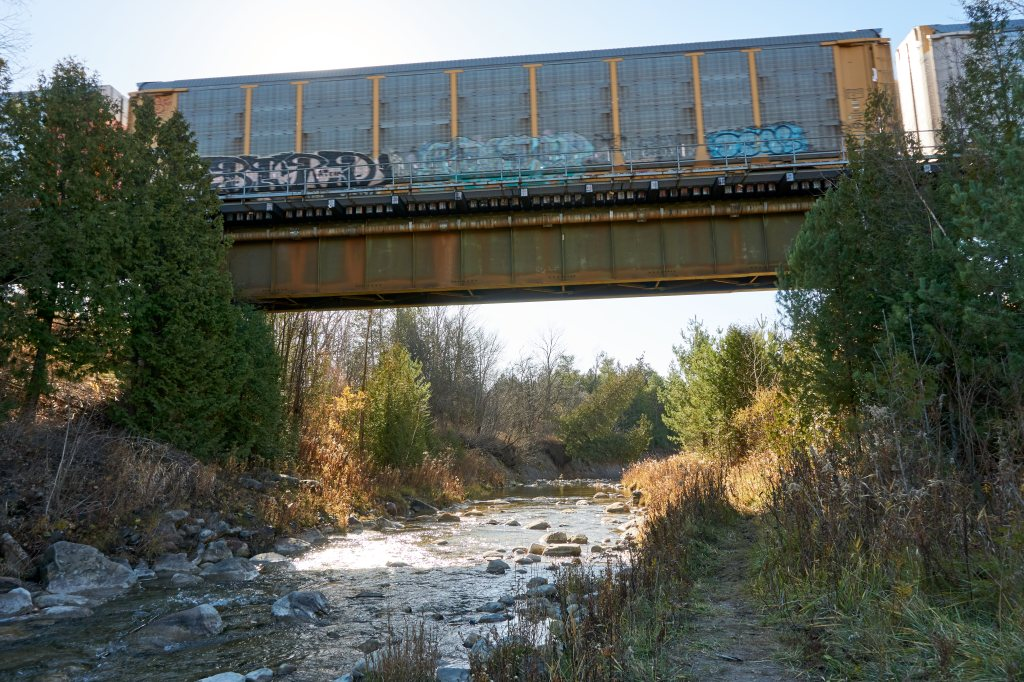 CNR bridge over Little Rouge Creek
